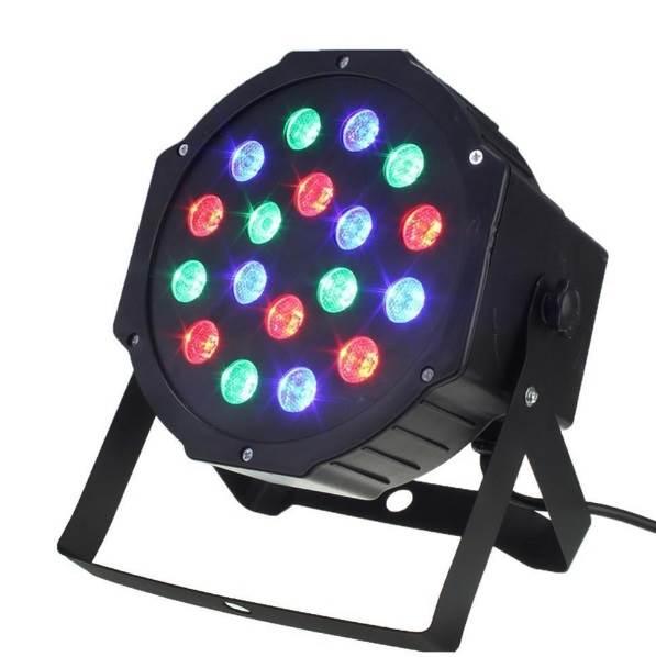 APT ZD64 LED reflektor, RGB, 18 diod