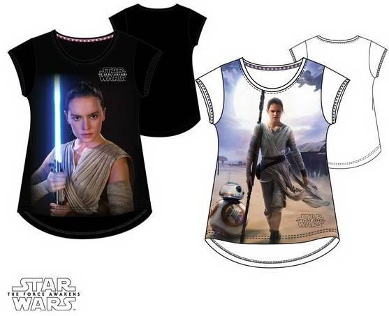 Javoli Detské tričko krátky rukáv Star Wars vel. 140 biele