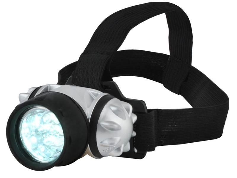 ISO Čelovka 7 LED