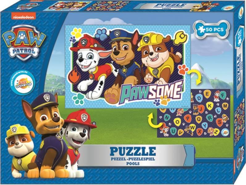 Javoli Puzzle Paw Patrol 50 Chlapecké dílků1