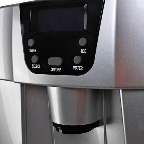 Malatec 9815 Výrobník ledu s dispenzerem vody 12Kg/24h šedý4