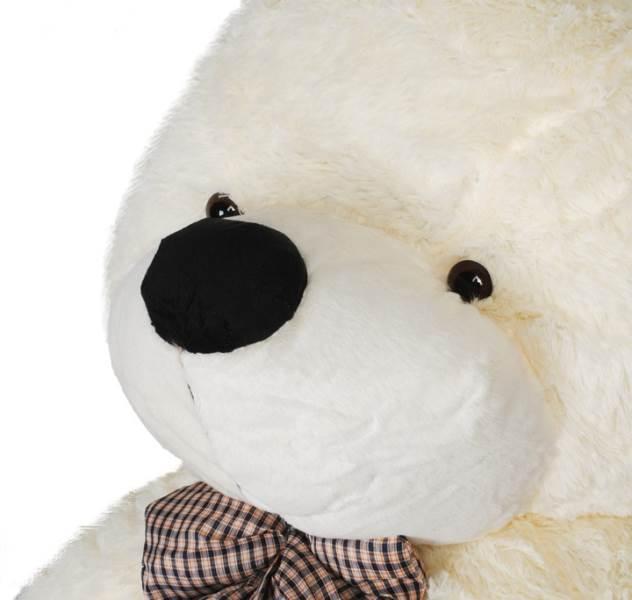 Velký plyšový medvěd bílý 160 cm8