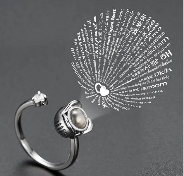 GFT Prstienok s ružičkou - Milujem Ťa 100x inak