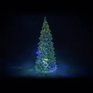 ISO 7266 Svítící LED stromeček 16 cm