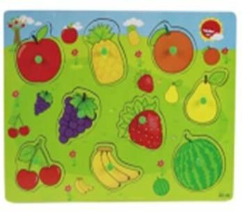 KIK KX7880 Vkládací puzzle ovoce