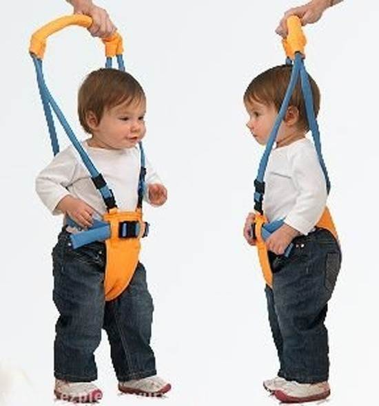 Pre učenie chodenia detí popruhy - chodítko