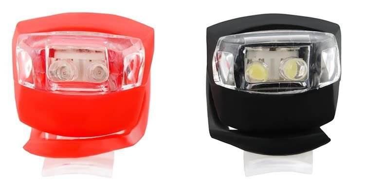 ISO Silikónové svetlo na bicykel-2ks