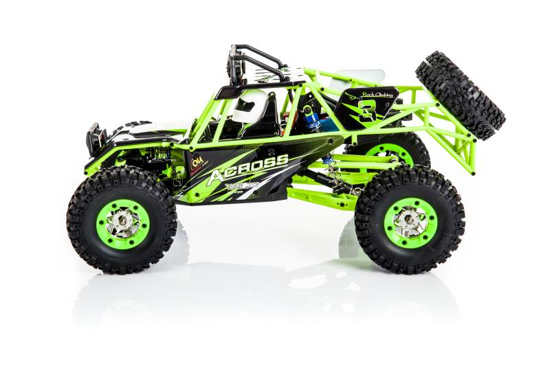WL toys VODĚODOLNÁ Buggy 12428 1:12 zelená5