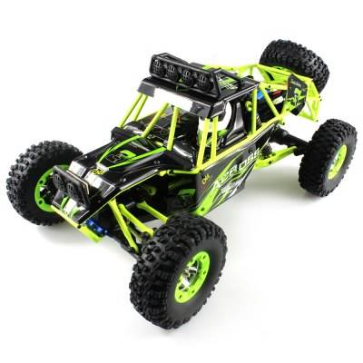 WL toys VODĚODOLNÁ Buggy 12428 1:12 zelená11