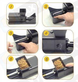 ISO 1181 Elektrická plnička cigariet Basic2