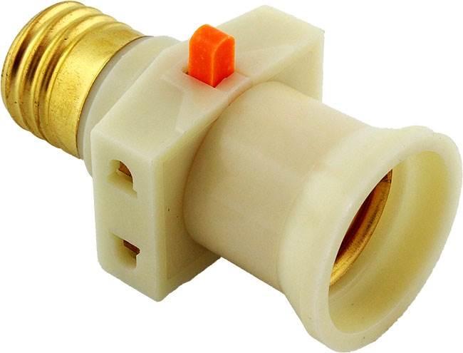 APT žiarovkové adaptér 2x zásuvka, pre žiarovku s päticou E27