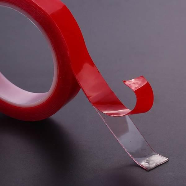 KIK KX6778 Průhledná akrylová gelová páska 6mm x 3m oboustranná