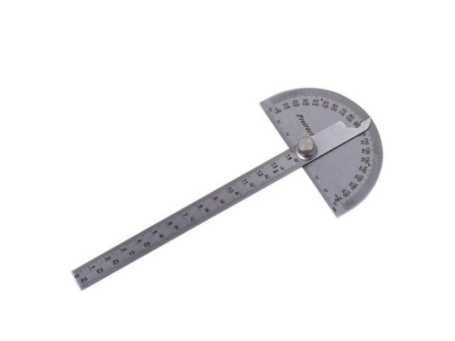 Fedus 1321a Oblúkový uhlomer 90x150 mm