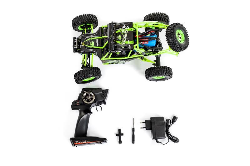 WL toys VODĚODOLNÁ Buggy 12428 1:12 zelená3