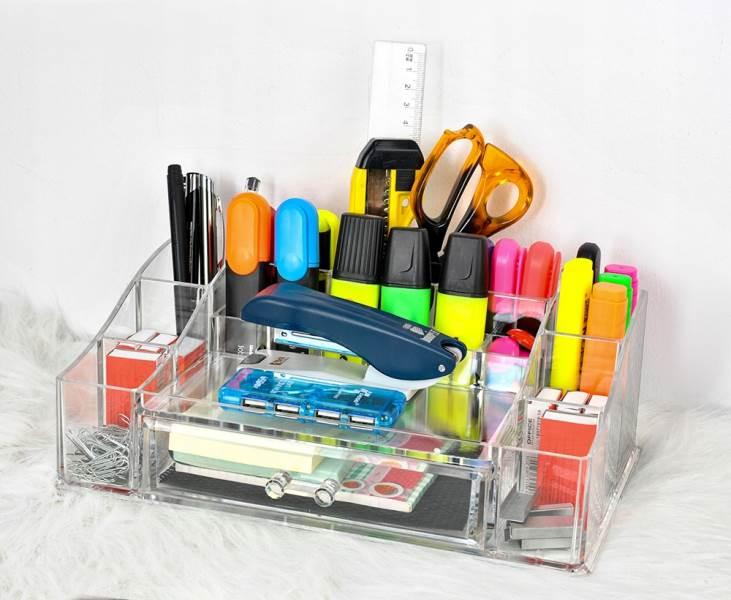 ISO 5333 Průhledný organizér na kosmetiku XL7