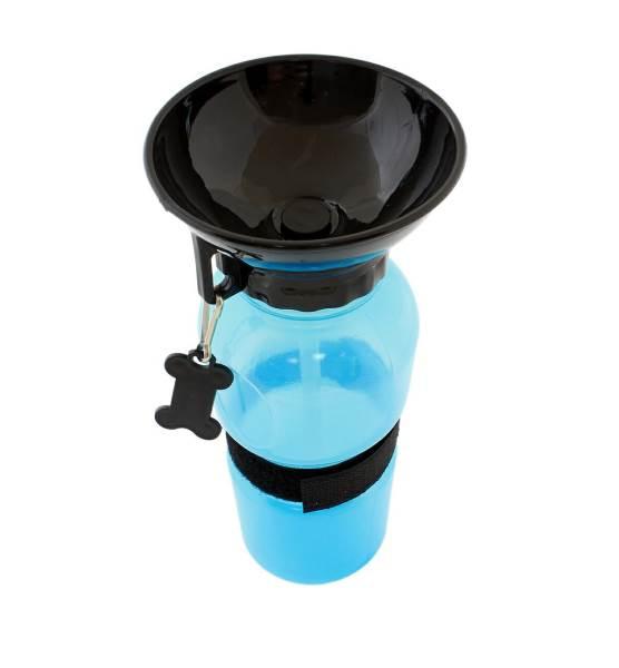 APT AG604A Cestovné fľaša pre psov s miskou 500 ml