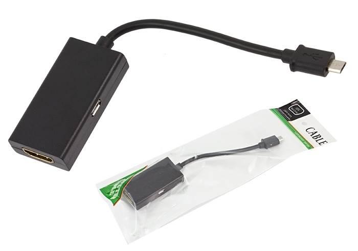 APT HD30 Redukce MHL-HDMI MICRO USB HTC