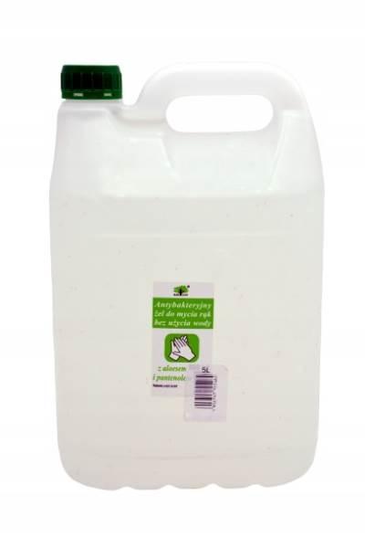 ISO Antibakteriální gel na ruce 5 L ochrana proti koronaviru