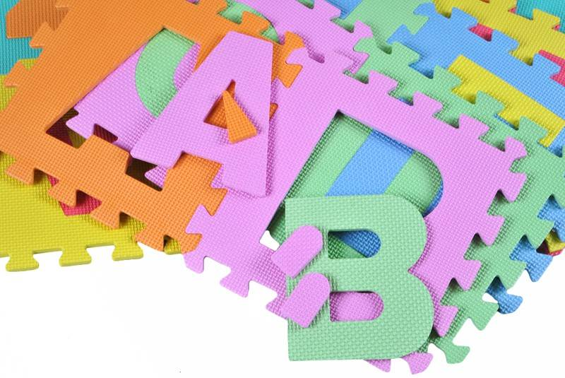 EVA Penové puzzle 30 x 30cm - 36 ks8