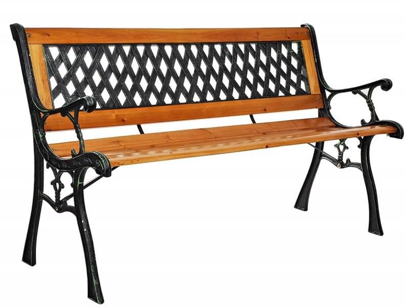 Malatec 9807 Záhradná lavička Miriam 122 cm