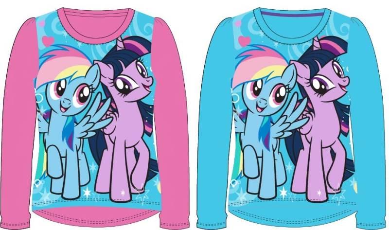 Javoli Detské tričko dlhý rukáv My Little Pony veľ. 104 modré