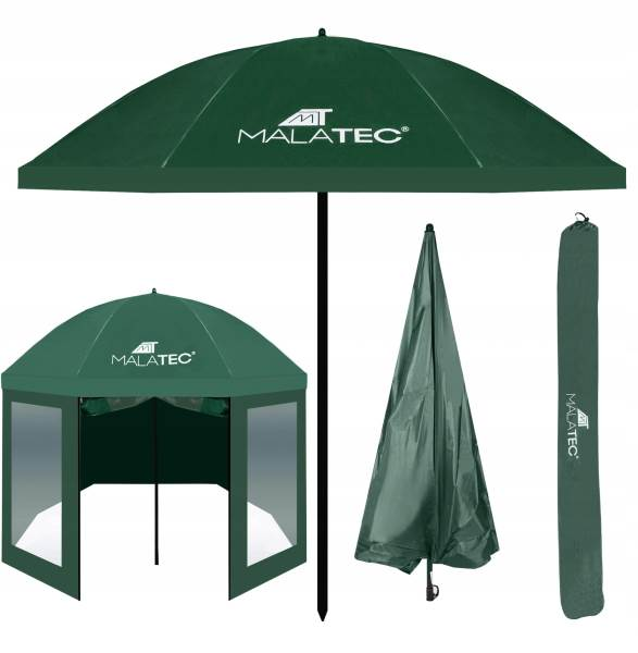 Malatec 10139 Rybářský deštník 240 cm zelený