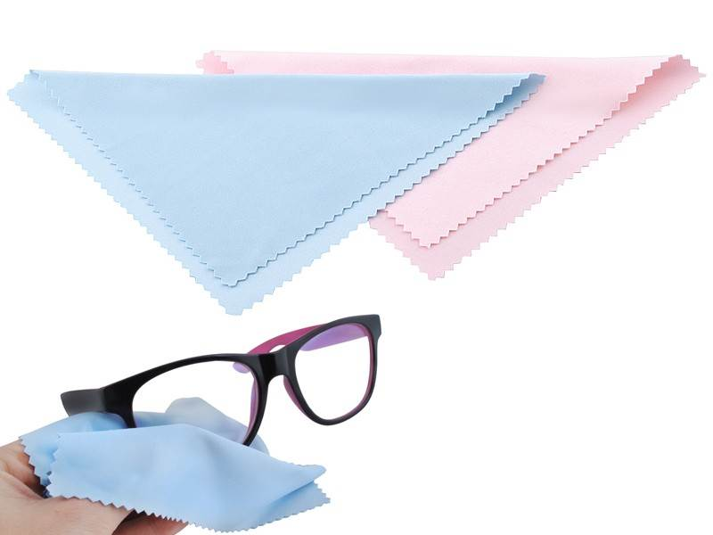 ISO Handrička na okuliare z mikrovlákna 14 x 14 cm