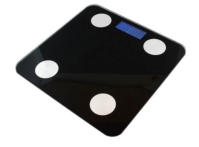 ISO 666 Analytická osobní váha Bluetooth 180 kg1