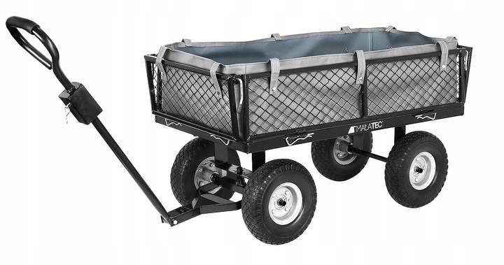 Malatec 9038 Záhradný vozík s výklopnými bokmi nosnosť 600 Kg2