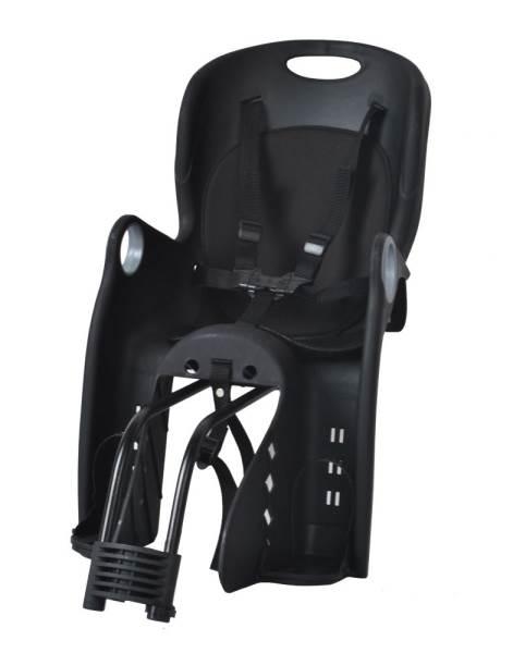 Malatec 1626 Detská sedačka na bicykel čierna