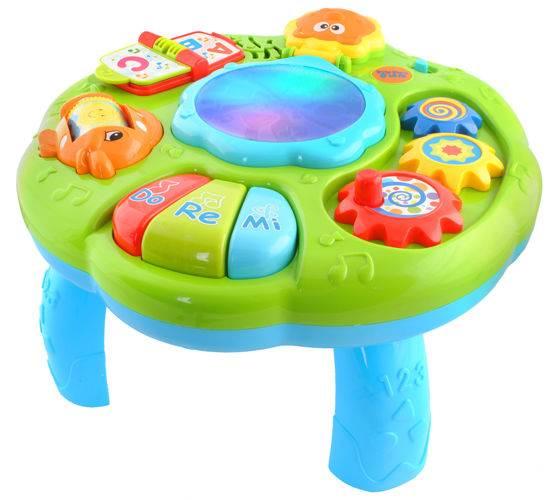 Huile Toys 4487 Interaktívne multifunkčný stolček so zvukmi