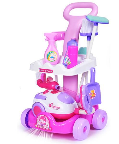 KIK KX7632 Detský upratovací vozík Magical Playset