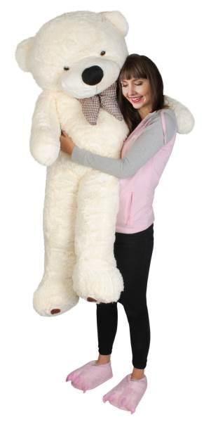Velký plyšový medvěd bílý 160 cm5
