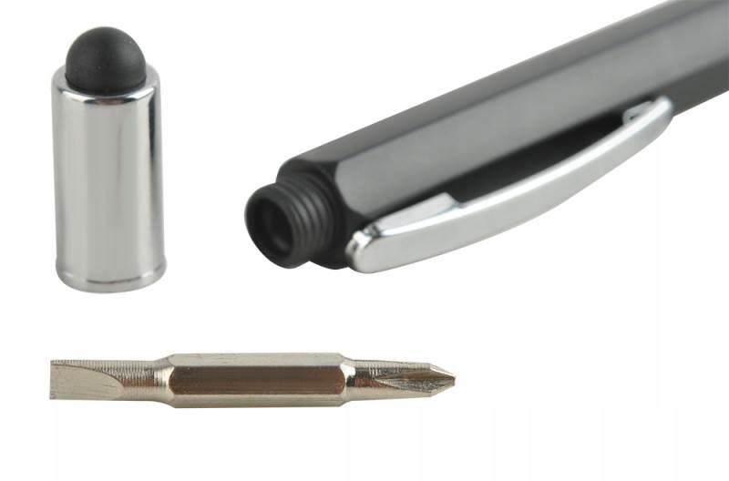ISO 6337 Viacúčelové pero 6 v 1 čierna9