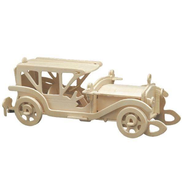 Woodcraft 3D puzzle dřevěná skládačka auto CX529