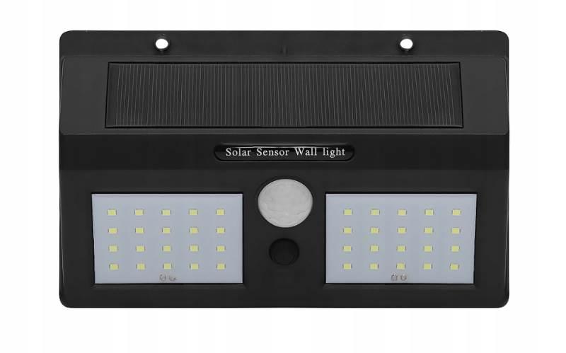 ISO 6683 Solární LED světlo s PIR čidlem pohybu 10W5