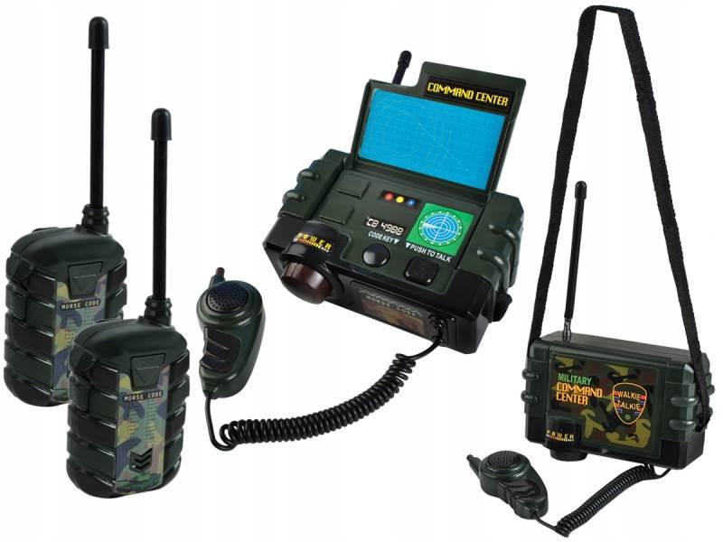 ISO 6499 Vysílačky walkie-talkie plast na baterie 3ks