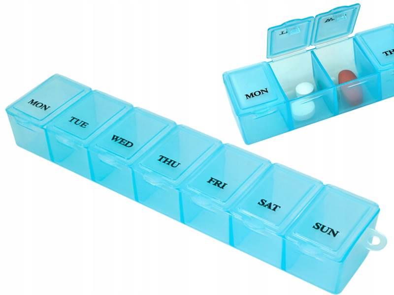 ISO 5338 Dávkovač liekov 7 dňový