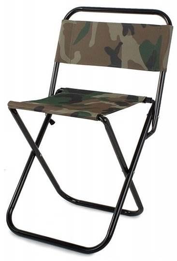 Verk 01423 Kempingová skladacie stoličky maskáč