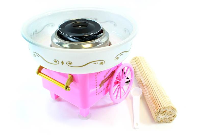 APT AG137B Výrobník cukrové vaty růžová