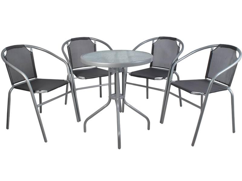Malatec 6193 Zahradní nábytek šedá