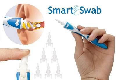 Effly Spirálový čistič uší s nástavci Smart Swab