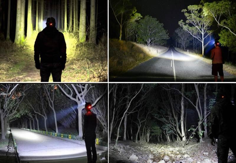 ISO 5868 Čelovka LED CREE9