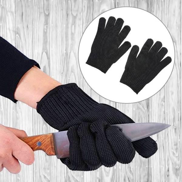 GFT Q406 Ochranné rukavice čierna