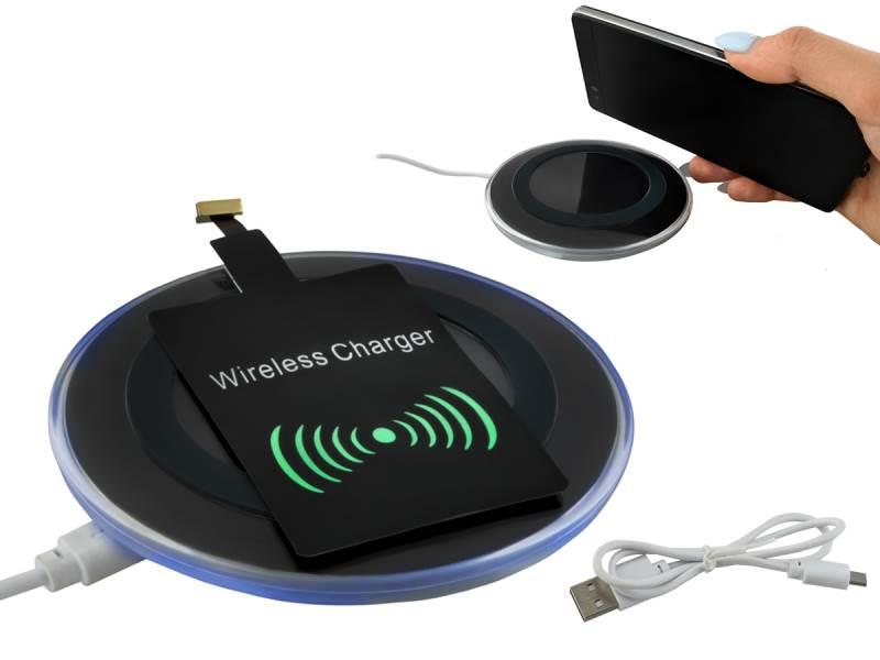 ISO 6125 Qi Bezdrátová nabíječka 5A - Wireless Charging neoriginální