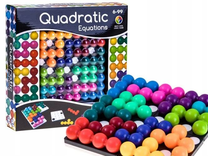 KIK KX7875 Hlavolamová Logická hra Quadratic