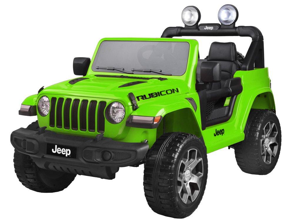 Joko PA0223 Zl Elektrické autíčko Jeep Wrangler Rubicon 4x4 zelené