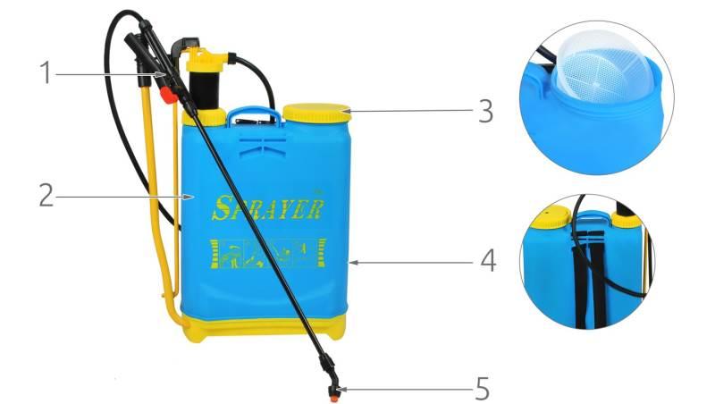 ISO 2179 Postrekovač chrbtový 16L 3