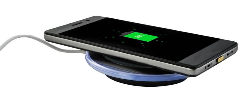 ISO 6125 Qi Bezdrátová nabíječka 5A - Wireless Charging neoriginální7