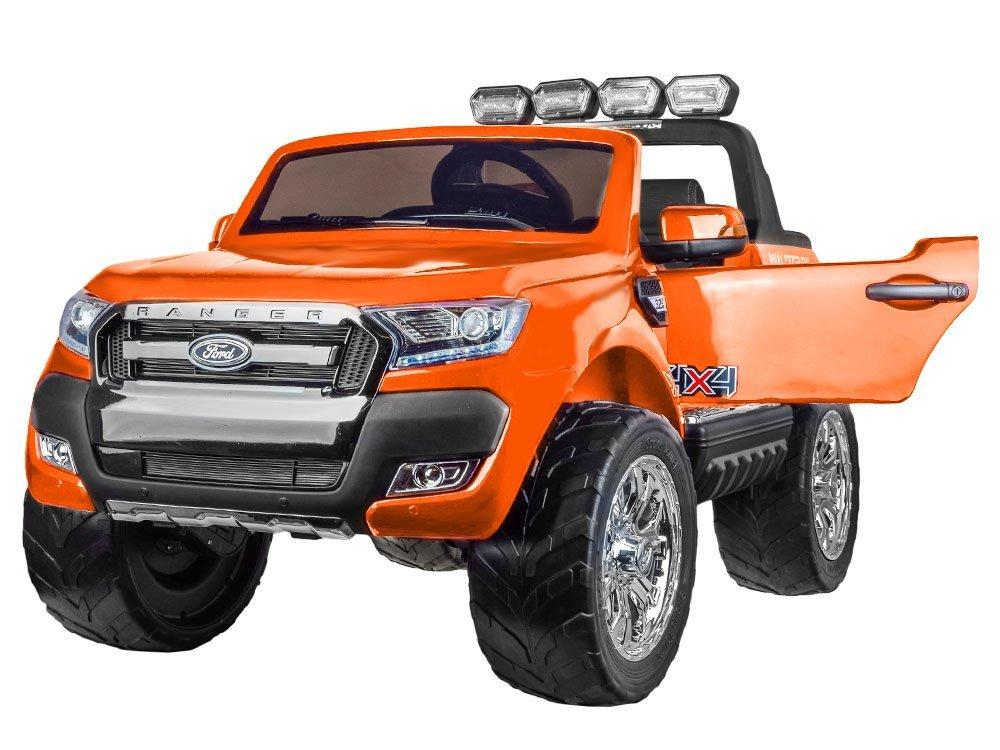 Joko PA0160 PO Elektrické autíčko Ford Ranger Wildtrak oranžové
